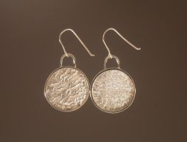 Reticulated Earrings by HappyThawts