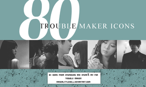 80 Trouble Maker Icons by raisealittlehell