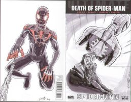 Ultimate Spider-Man 160 cover by shinlyle