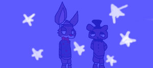 (derp bored) Joey: am seeing stars Freddy .o. by Moracalle
