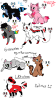 Songs Adoptables xD by Orichin