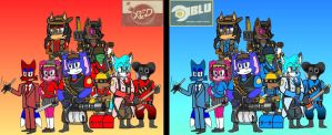 Team Fortress 2 Group Pic by DannyFox-12-05-90