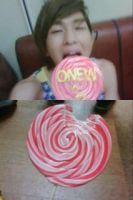 Onew: Candy by waterbirdART