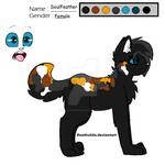Soulfeather reference by RainfurTheCat