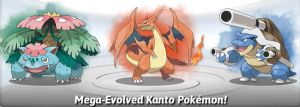 Mega-Evolved Kanto Pokemon! by NeroIsHot