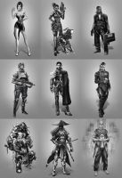 Edge of the Verse Characters by Keleus