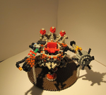 PerlerBeads: LoL - 3D Tristy: Rumbles Robot by zorberema