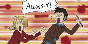 Allons-y! by HitanTenshi