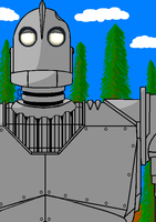Iron Giant in MSPaint by generalbrievous