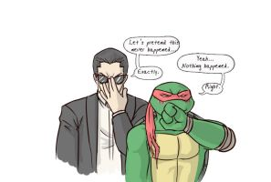 Tmnt Crack Pairing Bishop n Raph by Dragona15