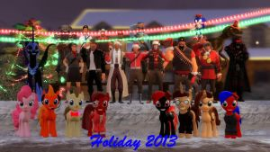 Holiday 2013 by Skellington16