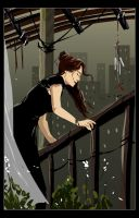Girl on the Balcony by mirchiz