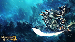 Monster Hunter - Lagia Crus - PS Vita Wallpaper by DomiNico20