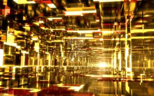 Golden Tunnels by Dr-Pen