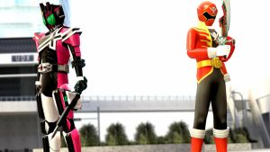 Rider and Ranger by dumbass333