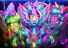 Rave it up, yo! by Blue-Fayt