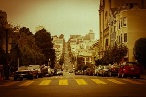 Streets of San Francisco by haoleboy08