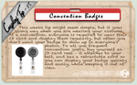 Cosplay Tip 15 - Convention Badges by Bllacksheep
