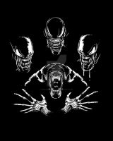Alien Rhapsody by spacemonkeydr