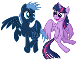 Star Hunter and Twilight by TheCheeseburger
