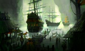 Pirate Hideout by Nele-Diel