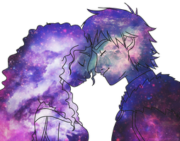 The Galaxy Is Ours by xCandySlice