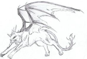 Cat Dragon ??? by Kyuubi0017