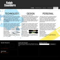 My Website Design by Little-FR34K