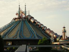 Space Mountain by Daftje