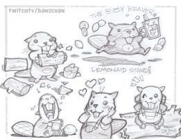 Busy Beaver Lemonaid by Banzchan