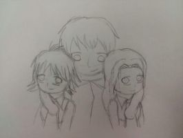APH and TATU- Russia and his girls by Moon-Potato