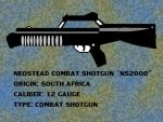 Neostead Combat Shotgun by pete7868