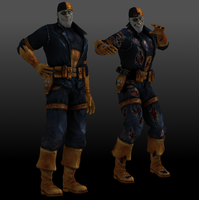 Deathstroke (Flashpoint) by Sticklove