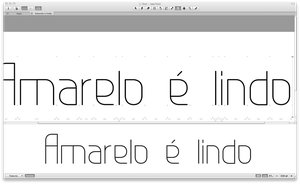 Yet another modular font by fabianelima