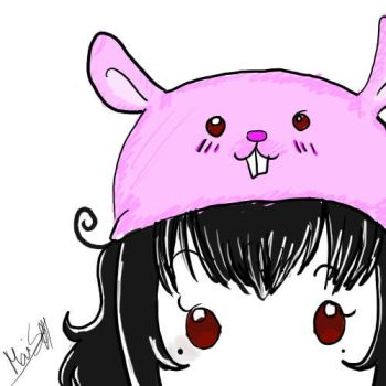 I.luv.u.bunny.hat by lolliipOpGiirl