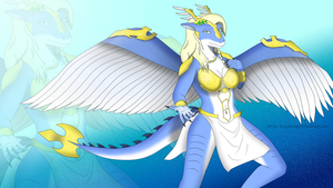Saffira Queen of Dragons Wallpaper by Sceptersage