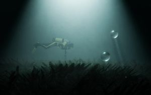 Night Diving by Hythamkalefe