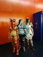 The three queens by Elithia