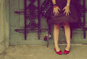 Red Shoes by kittykette