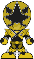 Chibi Mega Mode Samurai Gold by Zeltrax987