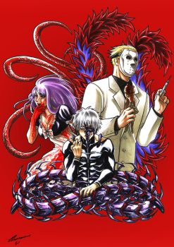 Halloween_Tokyo Ghoul by Psycho-Firefly