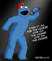 He Did It All For The Cookie! by ReuterWorld