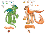 Oc Base Designs by DracoAntares6