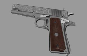 Baby Doll Colt 1911 by o--Xypher--o