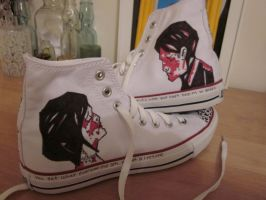 Three cheers for a epic shoes by OneTrickPwny