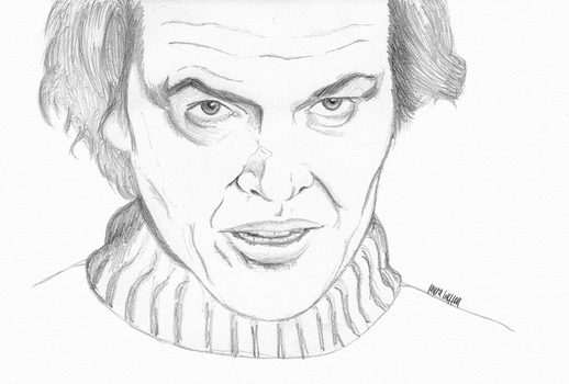 Jack Torrance by laurahutton