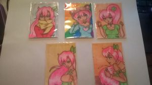 Rimi aceo series 1-5 by SailorSun18