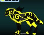 R1 2014 Rabby's Swirrle Black and yellow by Shadow-o-Rabby
