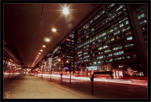 Montreal at Night 46 by Pathethic