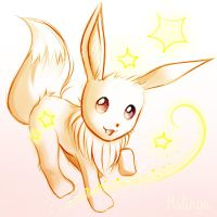 Eevee [Sketch] by Malinya